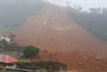 Sierra Leone: Mudslide kills at least 300 as houses are buried