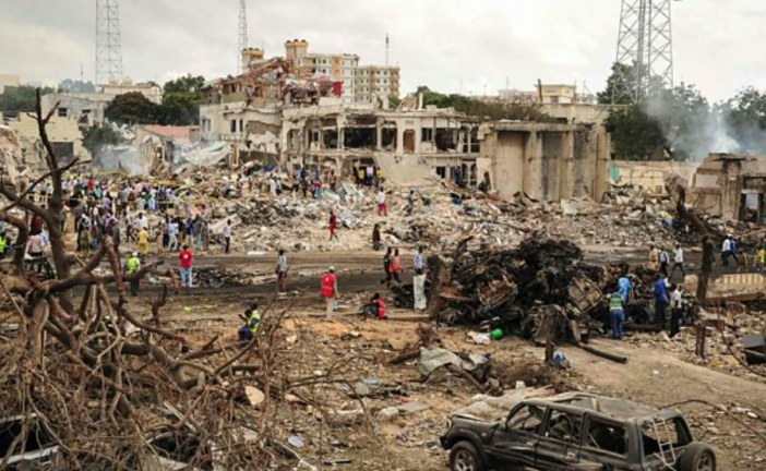 At least 230 dead in Mogadishu blast in Somalia
