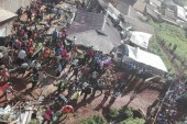 Kenya: Two dead and many 'feared trapped in building collapse' in Kisii