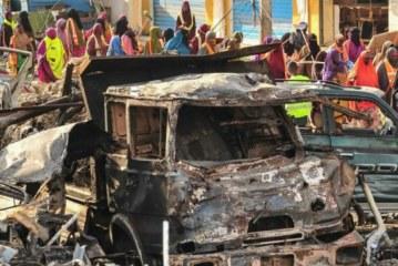 165 unidentified bodies buried from Somalia blast