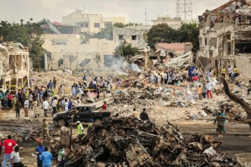 World reacts to 'sickening' Mogadishu bomb attack