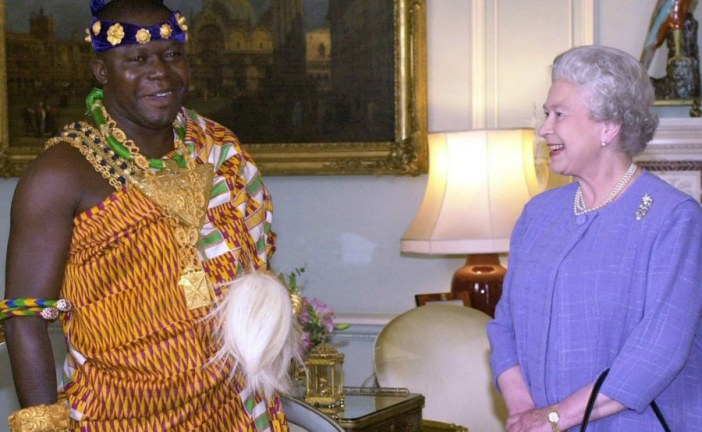 Ghanaian King gave me £350,000 and I took it to the bank in taxi