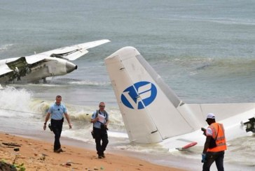 Four die when cargo plane plunges into sea in Ivory Coast