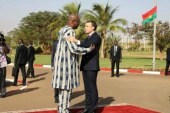 Macron on a three days trip to West Africa