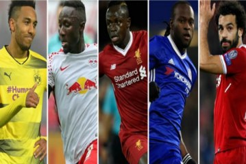 BBC African Footballer of the Year 2017: The five contenders