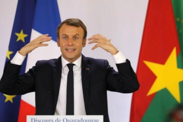 'Who are the traffickers? They are Africans' Exasperated Macron puts the blame squarely on Africans