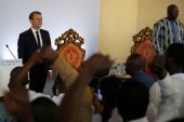 Burkina Faso President walks out on Macron after humiliation