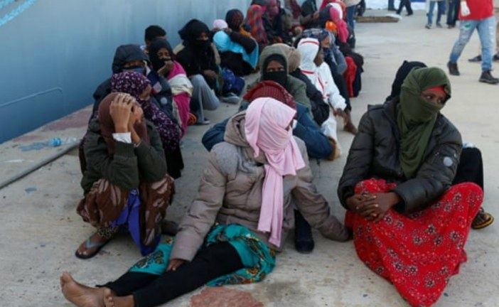 African refugees bought, sold and murdered in Libya
