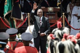 Kenyatta sworn in for second term as Kenya's president