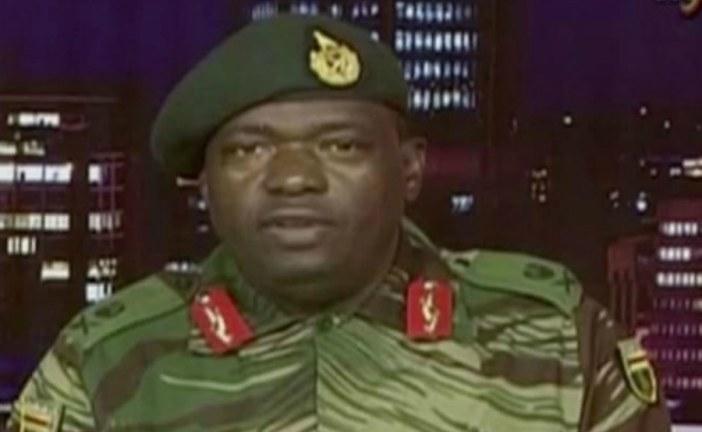 Zimbabwe military's statement after seizing power