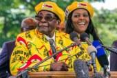 Zimbabwe's President Mugabe under house arrest, Grace flees to Namibia