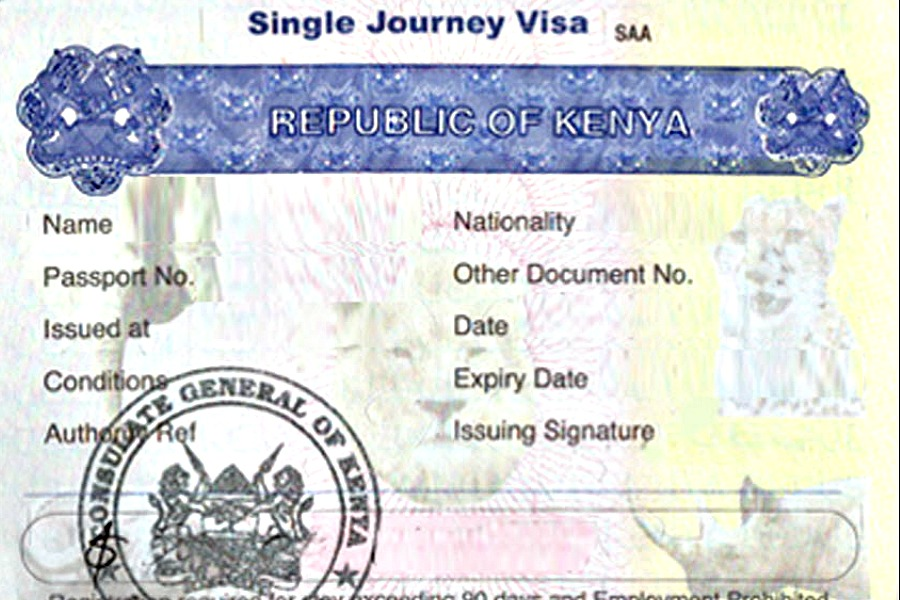 Kenya president lifts travel restrictions. All Africans can get visa on arrival