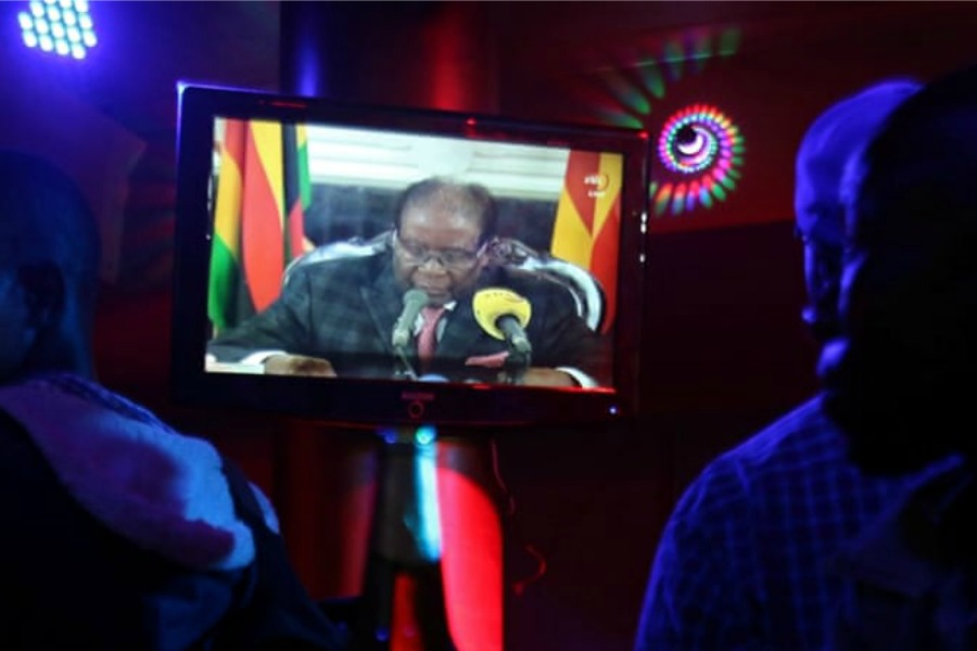 Defiant Robert Mugabe addresses the nation, No resignation