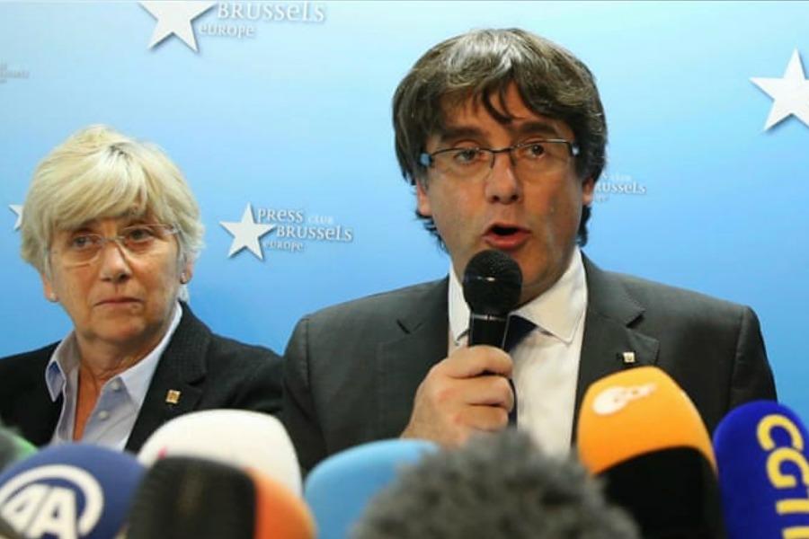 Belgium frees deposed Catalan leader pending trial