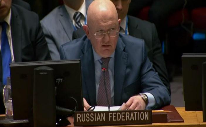 Russia Refutes Chemical Attack in Syria Video + Transcript