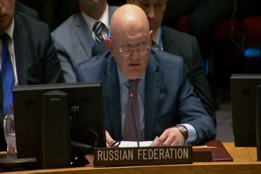 Russia Refutes Chemical Attack in Syria Video + Transcript