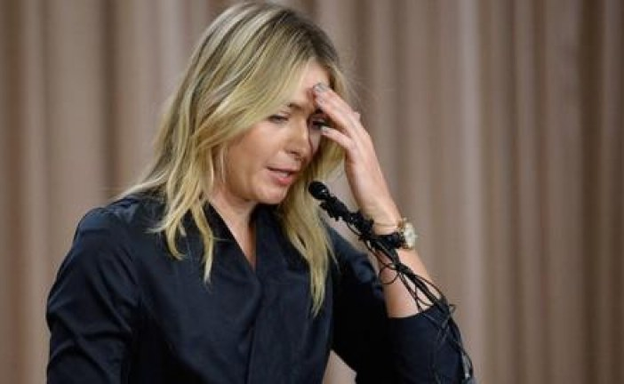 Maria Sharapova files appeal to Court of Arbitration for Sport over two-year ban