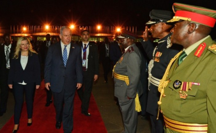 In Kenya, PM says Africa trip will help rebuild world majority for Israel