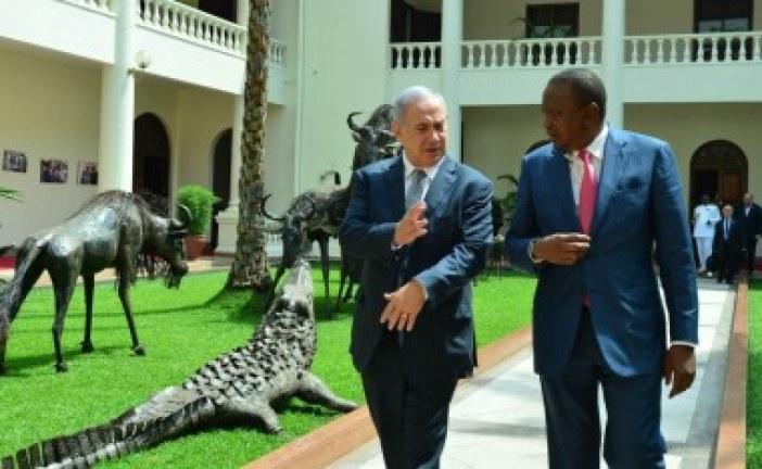 Kenya president vows to help Israel strengthen Africa ties