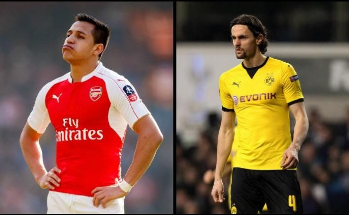 Football transfer news and rumours: ARSENAL: Gunners bid for Neven Subotic and angrily turn down Juventus offer for Alexis Sanchez