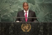 Central African Republic has 'turned its back on past dark days,' President tells UN