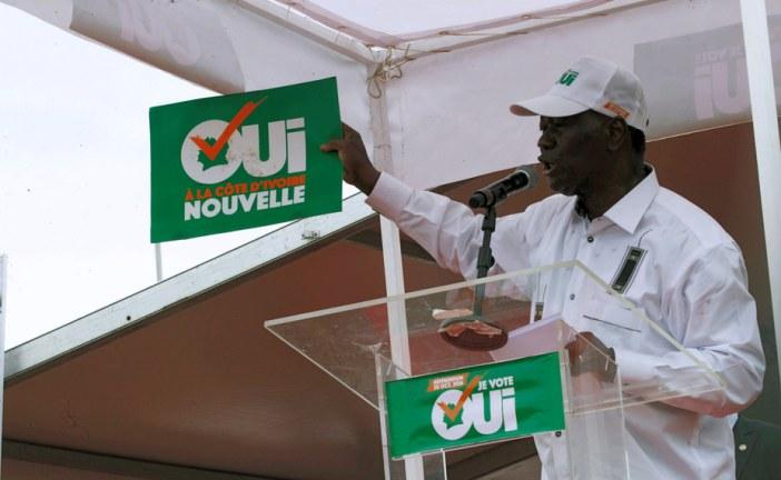 Controversial constitutional referendum sparks distrust in Cote d'Ivoire
