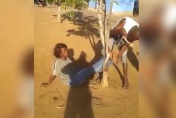 Une immigrée congolaise attachée et frappée par des gardes-frontières angolais