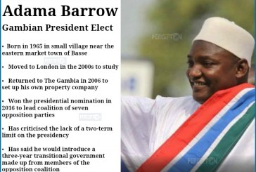 Who is Adama Barrow? Gambia's President Elect