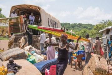 270,000 of South Sudan's refugees make Uganda Bibi Bidi camp home