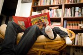 Fathers can make a difference in getting sons to read