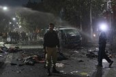 Deadly bomb blast rips through Lahore rally in Pakistan