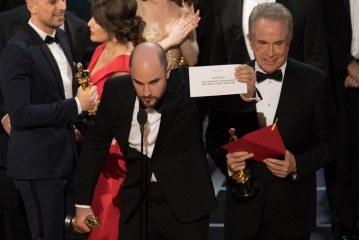 Oscars Best Picture blunder drowned out an overwhelmingly political ceremony – how apt