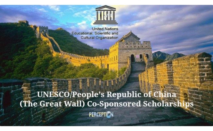 Chinese Government Scholarship-Great Wall Program