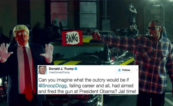 Donald Trump slams Snoop Dogg for pretending to shoot him