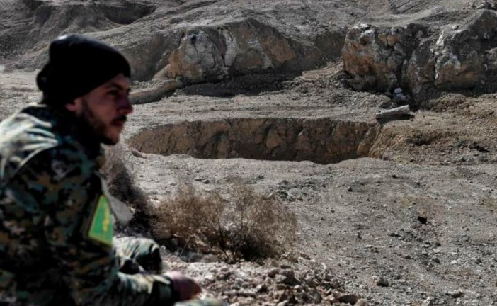 Iraq: ISIS mass grave found during Mosul liberation