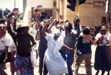 Namibia: grown up after a generation into independence, but not yet mature