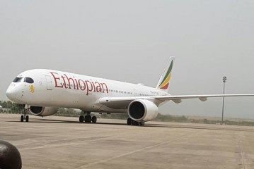 Just landed: Ethiopian Airlines first to land at revamped Abuja aiport
