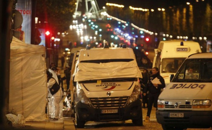 Police officer killed and two seriously wounded after a shooting near the Champs-Elysees in Paris.
