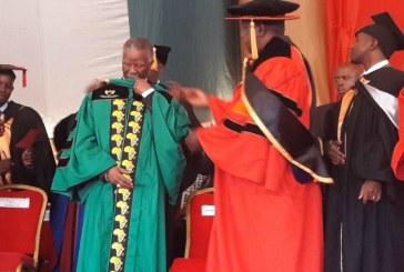 Kenyan university awards Mbeki honorary degree