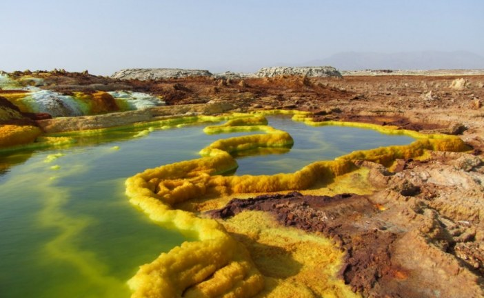 Ethiopia's inhospitable Danakil Depression gives us clues about life on Mars