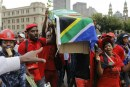 Demonstrators demand Zuma steps down