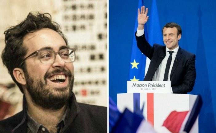 Marocain Mounir Mahjoubi, l'atout geek d'Emmanuel Macron