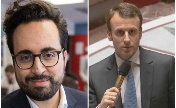Moroccan Mounir Mahjoubi Macron's digital campaign manager, responsible for surprise rise