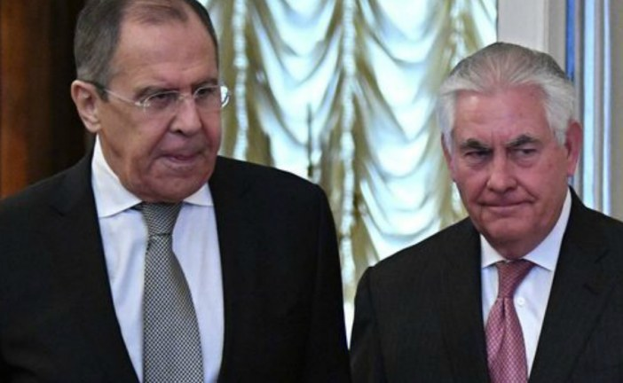 Lavrov and Tillerson to discuss Syria Safe zones in Alaska