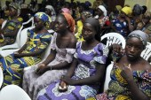 Chibok girls undergo health checkups before Buhari meeting