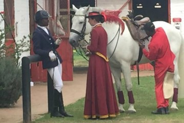 The black jockeys shaking up South Africa's horse riding scene