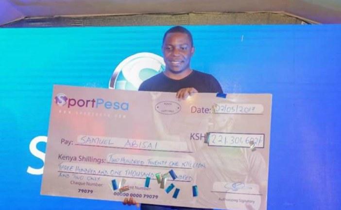 A Kenyan has won more than $2m (£1.5m) for correctly predicting 17 football matches