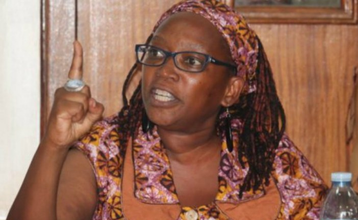 """Ugandan activist who called president """"pair of buttocks"""" Nyanzi collapses during bail hearing"""