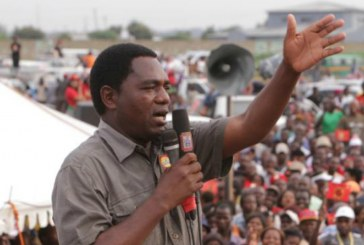 South African opposition leader to go to Zambia in solidarity
