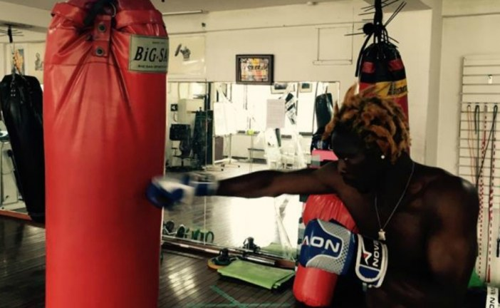 Cameroonian boxer fighting for asylum in South Korea